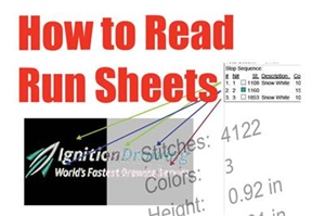 How to Read Run Sheets